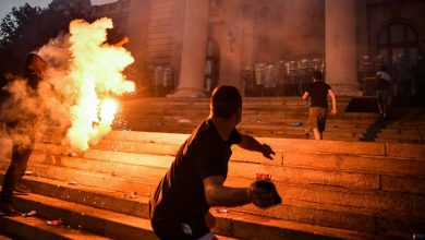 Photo of Serbia Protests Meet Violent Response in Europe's 1st Major Virus Unrest