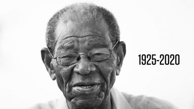 Photo of Sir Everton Weekes, the last of the three Ws, dies aged 95