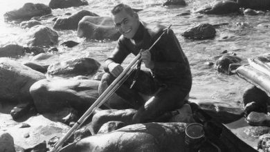 Photo of Jay Riffe, Spearfishing King, Is Dead at 82