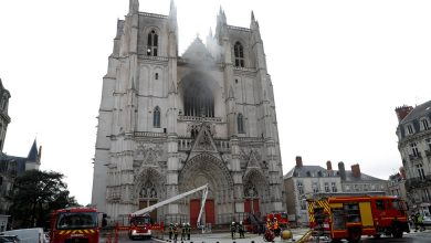 Photo of Arson Suspected in French Cathedral Fire