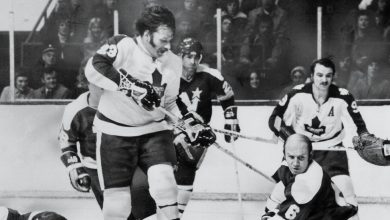 Photo of Eddie Shack, Feisty Wing for Powerful Maple Leafs, Dies at 83