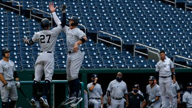 Photo of After Marlins' Outbreak, Yankees Stay Inside and Wait for Phillies