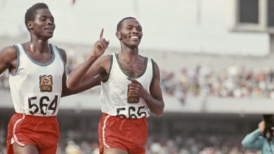 Photo of Ben Jipcho, a Runner Who Sacrificed Himself for a Teammate, Dies at 77