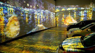 Photo of COVID-19: Drive-in Vincent Van Gogh art exhibit