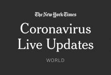 Photo of Live Coronavirus Updates: U.S. Sets Case Record