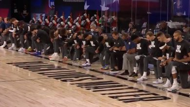Photo of NBA restart: Pelicans, Jazz kneel during national anthem ahead of first game