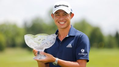 Photo of Collin Morikawa tops Justin Thomas in playoff to win Workday Open