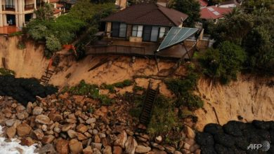 Photo of Storm lashes Australian coast threatening homes