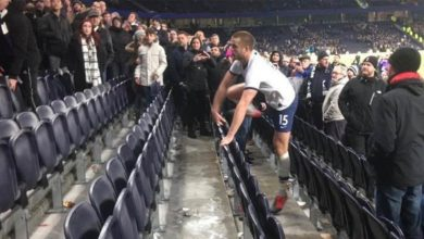 Photo of Eric Dier banned 4 games for going after fan in stands