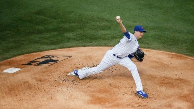 Photo of Kyle Hendricks: Cubs righty throws three-hit shutout against Brewers