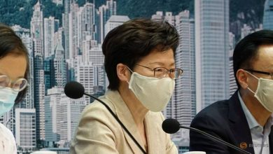 Photo of Hong Kong leader Carrie Lam set to announce delay to Sep 6 election as COVID-19 cases spike: Report