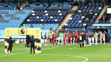 Photo of Man City gives Liverpool guard of honor for Premier League title