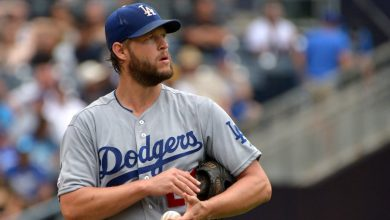 Photo of MLB: Dodgers place Clayton Kershaw on IL with back stiffness