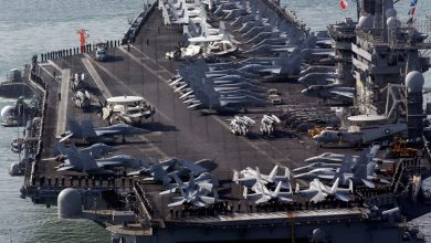 Photo of With Beijing's Military Nearby, U.S. Sends 2 Aircraft Carriers to South China Sea