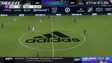 Photo of MLS Is Back: Ads cover screen on ESPN broadcasts (photos)