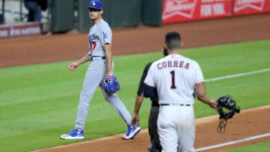 Photo of Dodgers pitcher Joe Kelly did MLB a favor putting Houston Astros back in spotlight