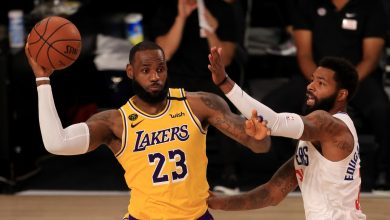 Photo of Lakers-Clippers: LeBron's putback clinches eerily subdued battle for LA in Orlando