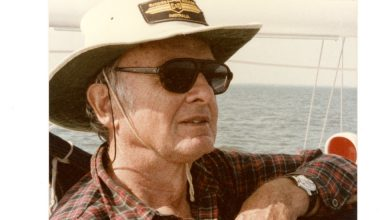 Photo of Marvin Creamer, a Mariner Who Sailed Like the Ancients, Dies at 104