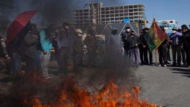 Photo of Bolivia Under Blockade as Protesters Choke Access to Cities