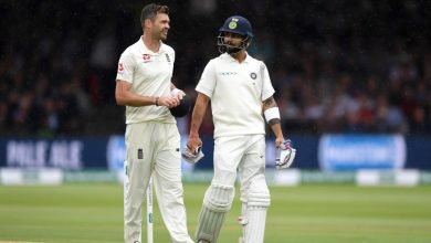 Photo of James Anderson on facing Virat Kohli next year: 'It will be a tough battle'