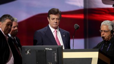Photo of Report Details Manafort's Ties During 2016 Trump Campaign to a Russian Agent