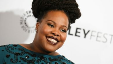 Photo of Hollywood: Amber Riley pays emotional tribute to 'Glee' co-star Naya Rivera