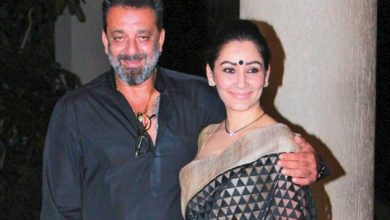 Photo of Sanjay Dutt's wife Manyata gives statement after cancer rumours