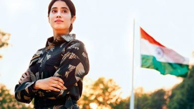 Photo of 'Gunjan Saxena: The Kargil Girl' Bollywood movie review: Biopic on woman fighter pilot soars and dips