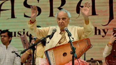 Photo of Pandit Jasraj, Master Indian Vocalist, Is Dead at 90