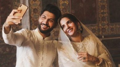 Photo of Pakistan: Actress Saba Qamar, singer Bilal Saeed in hot water over Wazir Khan mosque shoot in Lahore, Punjab Chief Minister takes notice