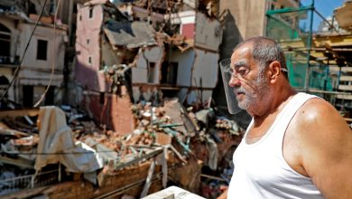 Photo of In battered Lebanon, a spike in coronavirus cases adds to the misery