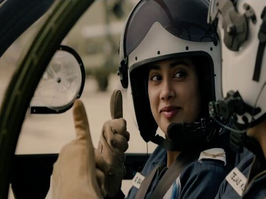 Janhvi Kapoor in Gunjan Saxena: The Kargil Girl