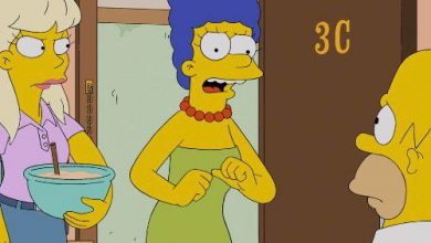 Photo of Watch: Marge Simpson has something to say to the Trump campaign
