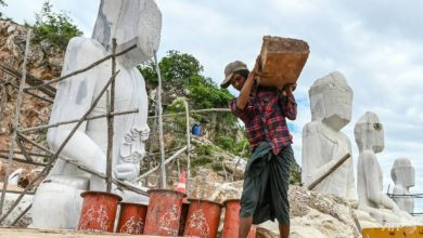 Photo of 'We want our mountains back': the fight over Myanmar's marble hills