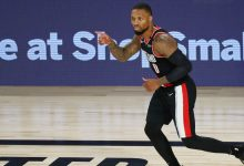 Photo of Damian Lillard: Trail Blazers guard named MVP of NBA's seeding games in bubble