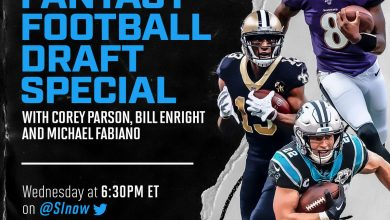 Photo of 2020 Fantasy Football Draft Special: LIVE Stream 6:30 pm (ET) Wednesday 8/5