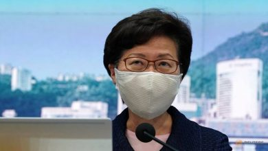 Photo of US blacklists Hong Kong leader Carrie Lam, sanctions other officials