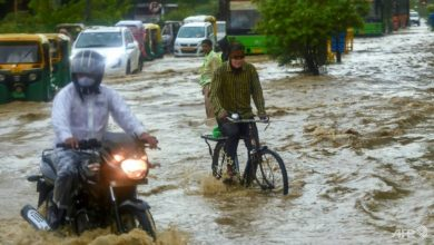 Photo of Floods in Delhi as South Asia monsoon toll rises to nearly 1,300