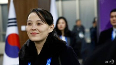 Photo of North Korean leader's sister is 'de facto second-in-command', South Korean lawmaker says