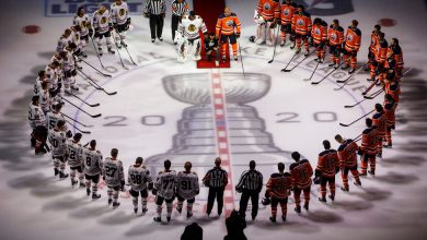 Photo of Hockey, Rocked by Racist Acts, Embraces Black Lives Matter Campaigns