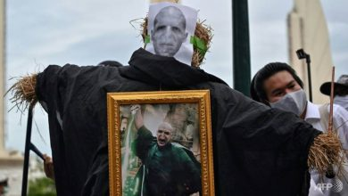 Photo of Thais 'cast a spell' for democracy in Harry Potter-themed protest