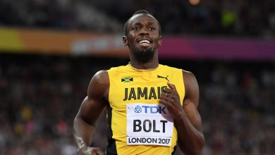 Photo of Usain Bolt in quarantine, awaiting results of COVID-19 test