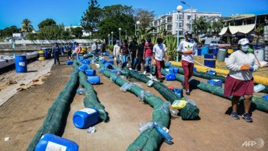 Photo of Mauritius braces for split of oil-oozing ship off coast