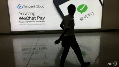 Photo of Chinese WeChat users fear being cut off from US friends