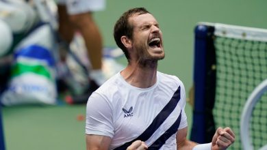 Photo of Andy Murray, the Former No. 1, Pulls a Wild U.S. Open Comeback