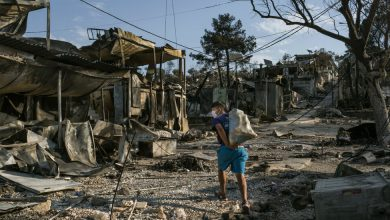 Photo of After Fire Razes Squalid Greek Camp, Homeless Migrants Fear What's Next