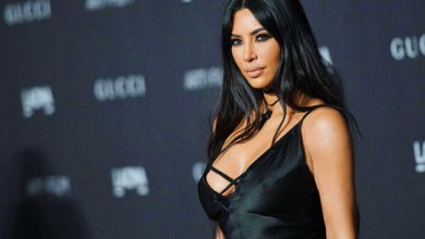 Photo of Kim Kardashian defends maternity shapewear line after backlash