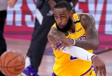 Photo of LeBron James, Denied the M.V.P., Overpowers Denver Nuggets in Game 1