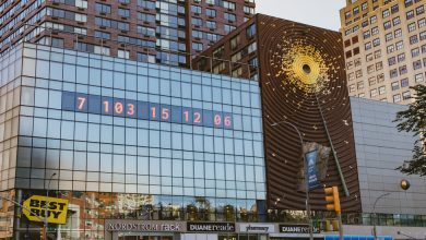 Photo of A New York Clock That Told Time Now Tells the Time Remaining