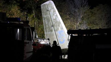 Photo of Ukrainian Military Plane Crashes, Killing 22
